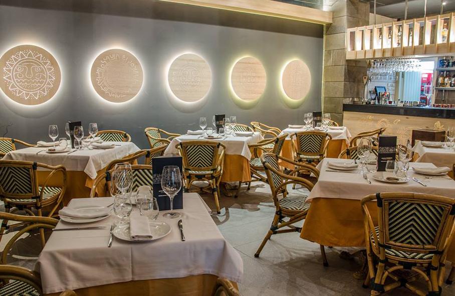 Restaurante Inti de Oro Castellana Madrid Interiores