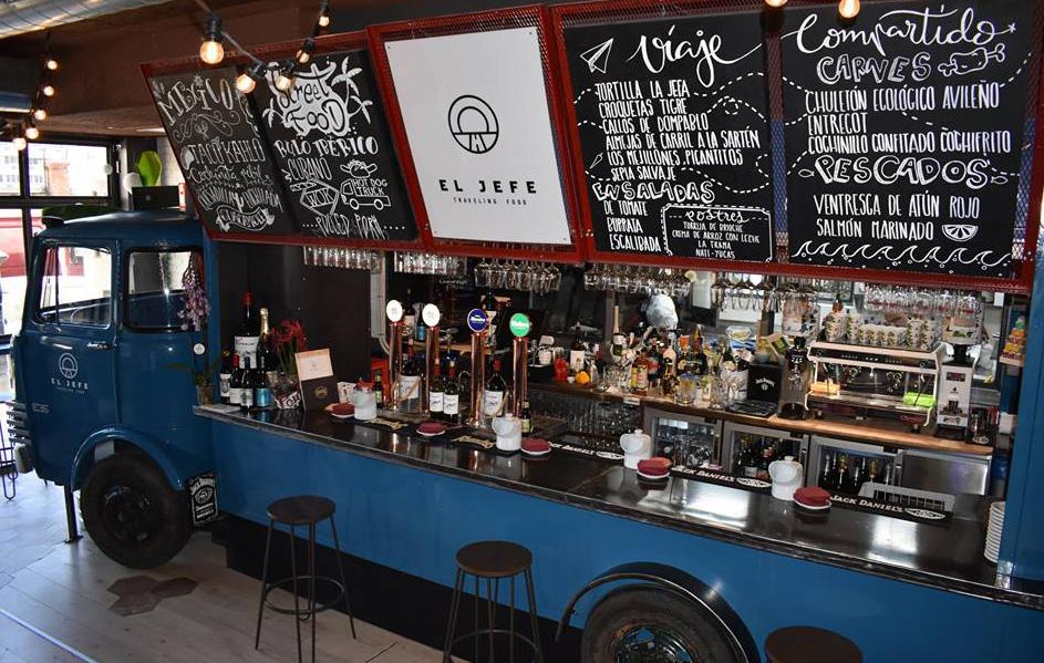 El Jefe Traveling Food Restaurante Madrid Barra