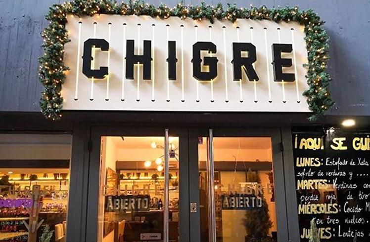 Restaurante Chigre Madrid Fachada