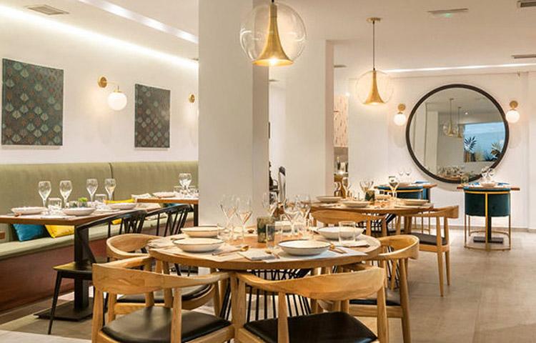Restaurante Aitatxu Madrid Sala