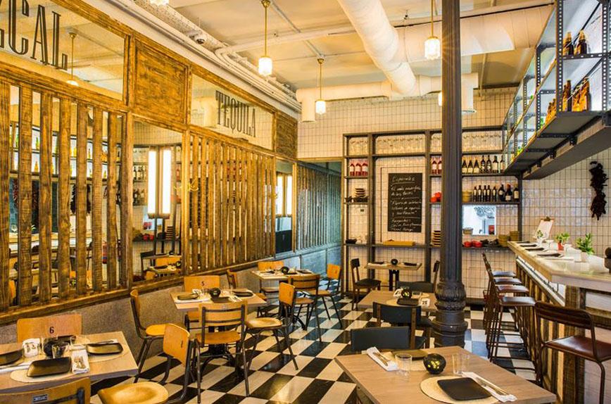Restaurante Regañadientes Madrid Interiores